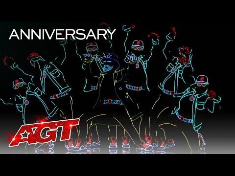 Light Balance Receives a Life-Changing Golden Buzzer Video - America's Got Talent 2020
