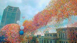 NEVER RELEASE 1.5 MILLION BALLOONS INTO THE AIR!