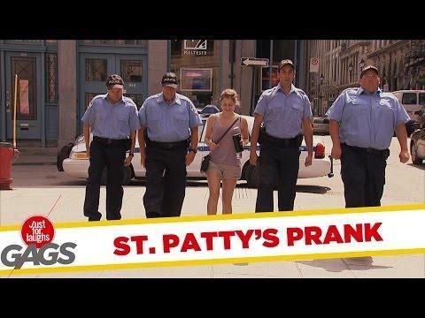 St. Patrick's Riverdance Prank - Hilarious!