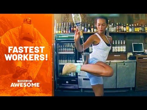 The Best At Their Job Video | Fast Workers