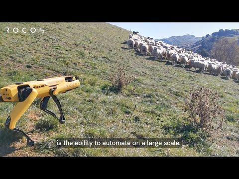 Autonomous farm work video - enter the robots