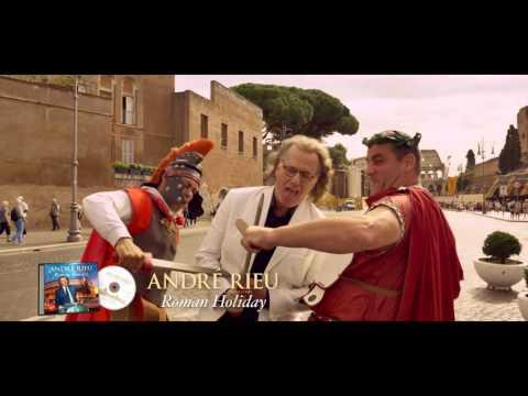 André Rieu Introduces His New Album 'Roman Holiday'
