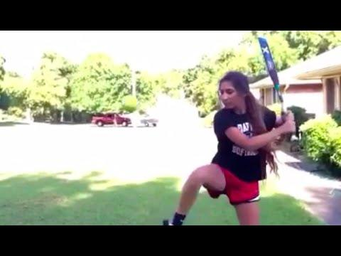 Baseball/Softball Bat Flip Tricks Compilation