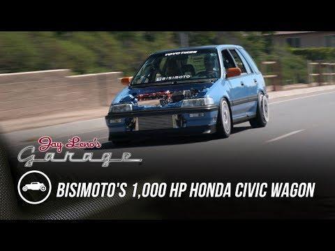 Bisimoto's 1,000 HP Honda Civic Wagon - Jay Leno's Garage