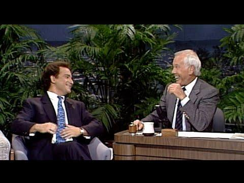 Kevin Pollak Does Woody Allen, William Shatner, and Columbo on Carson Tonight Show, 10/19/1988