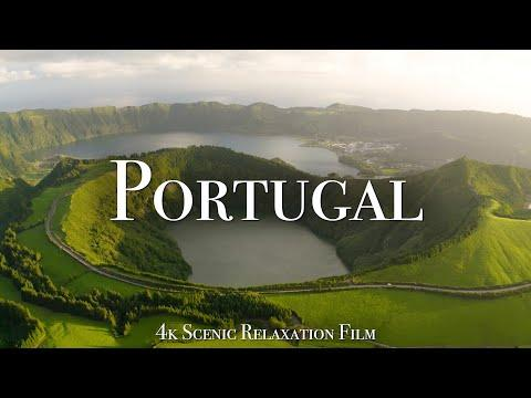 Portugal 4K - Scenic Relaxation Film With Calming Music #Video