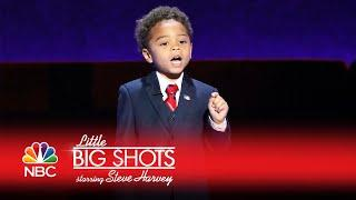 Little Big Shots - He's Five and Knows More Than You (Episode Highlight)