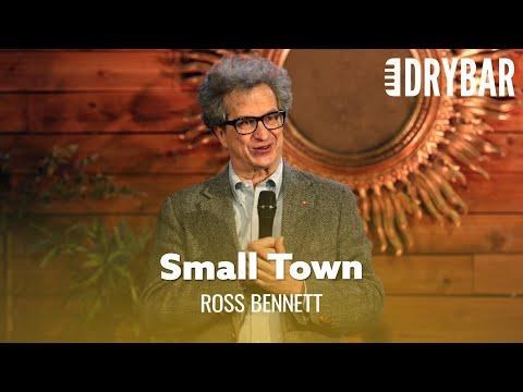 Every Small Town Needs A Walmart Video. Comedian Ross Bennett