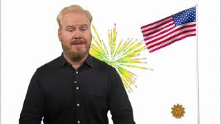 Jim Gaffigan on where Americans put their stuff