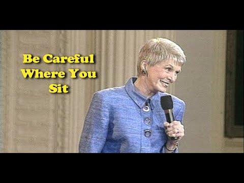 Jeanne Robertson Video | Be Careful Where You Sit