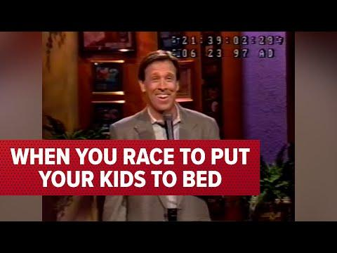 When You Race To Put Your Kids To Bed   Jeff Allen #Video